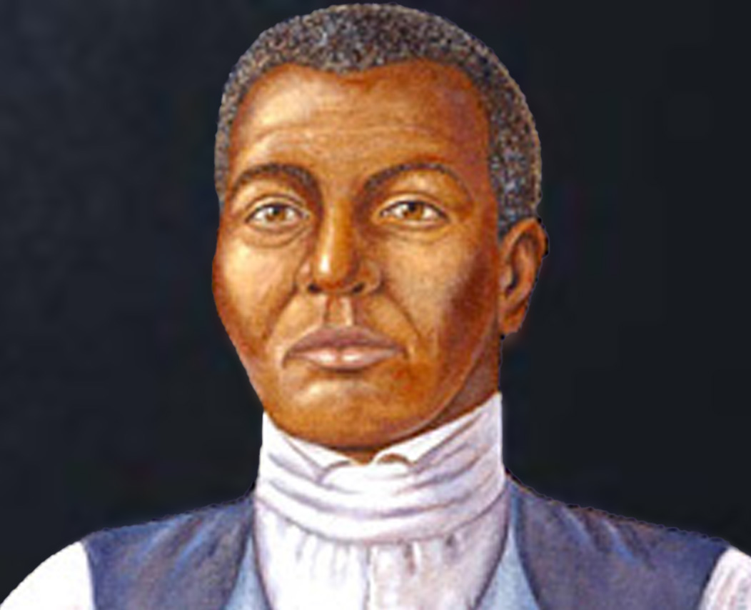 Rendered composite of how Mr. Fortune, a Waterbury slave, may have looked