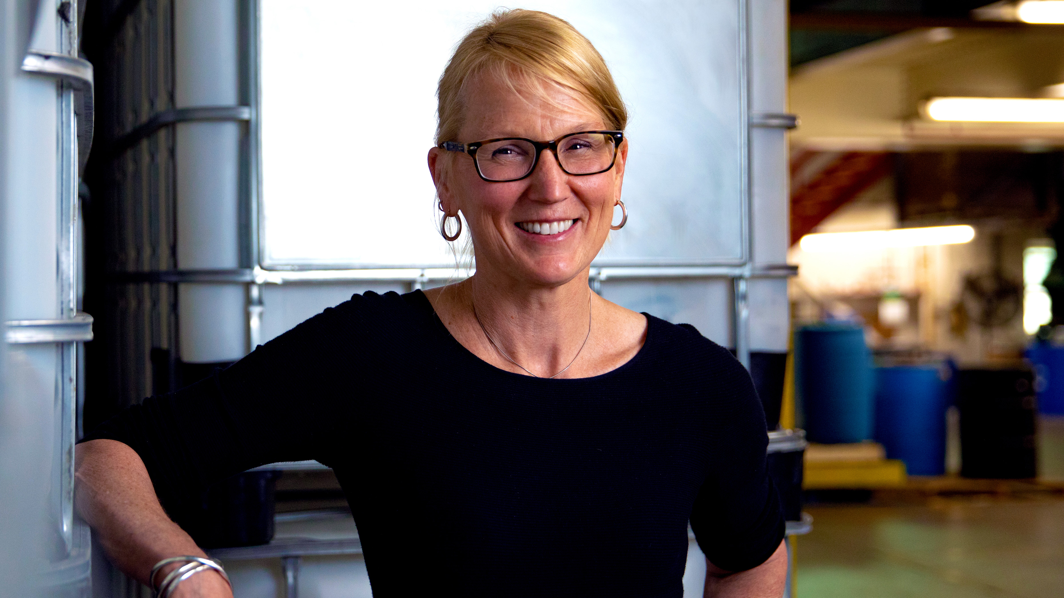Headshot of Hubbard Hall CEO Molly Kellogg of Waterbury CT