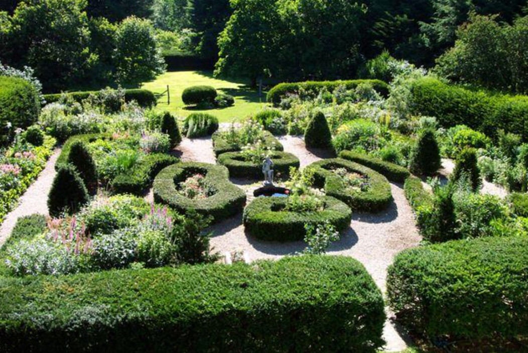 The gardens of the Bellamy-Ferriday House in Bethlehem